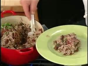 jamaican red beans  rice recipe  food  tos