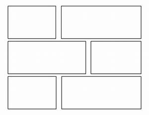 7 best images of comic strip template printable comic With printable blank comic strip template for kids