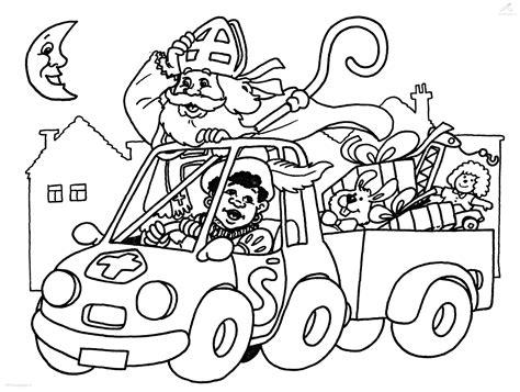 Kleurplaat Sinterklaas Moelijk by 20 Idee Kleurplaat Sinterklaas Brandweer Win Charles