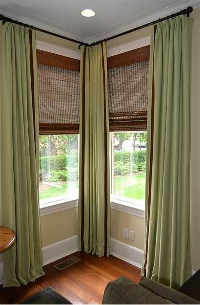 Curtain Corner Window Rod Rods Lowes Magnetic