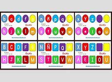 Abecedario diferentes formatos y tipos de letras portada