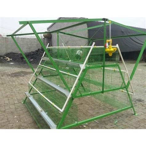 galvanized iron wire high tech poultry cage rs