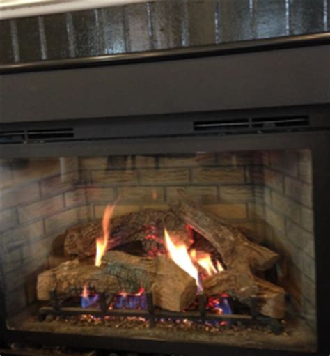 propane fireplace cleaning how to clean the glass on a gas fireplace the fireplace