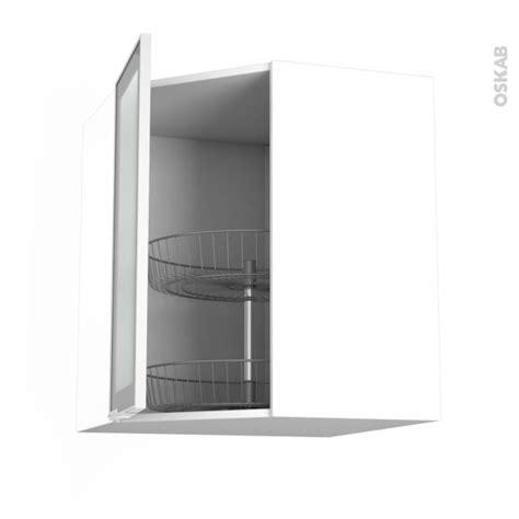 meuble cuisine vitré meuble de cuisine angle haut vitré façade alu tourniquet 1