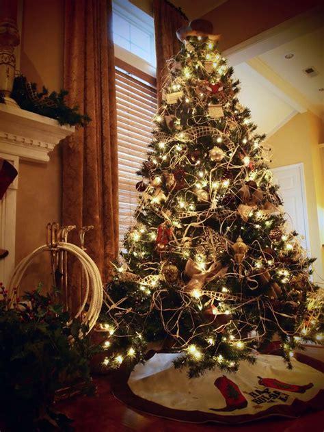 ideas  western christmas tree  pinterest