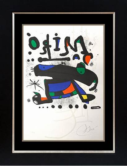 Etching Joan Miro Limited Edition Lot