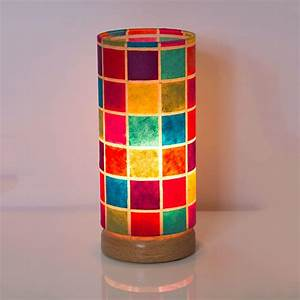 round flat base table lamp 15cm x 30cm shade With 30cm x 30cm lamp table
