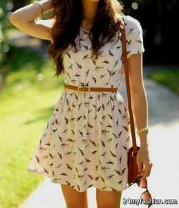 summer dress outfits tumblr 2016-2017   B2B Fashion
