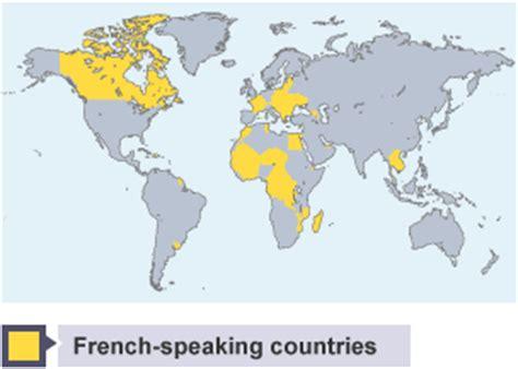 Bbc Bitesize  Gcse French  The Frenchspeaking World