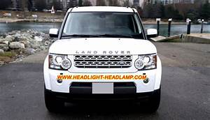 Land Rover Discovery Lr4 L319 Halogen Normal Headlamp Replace Upgrade Hid Bi