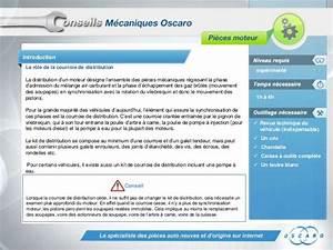Courroie De Distribution Cassée : oscaro conseils mecaniques courroie de distribution ~ Medecine-chirurgie-esthetiques.com Avis de Voitures