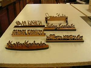 Hand Crafted Personalized Desk Name Plates by Larue