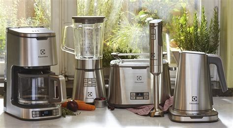 New collection of small kitchen appliances ? Electrolux Group