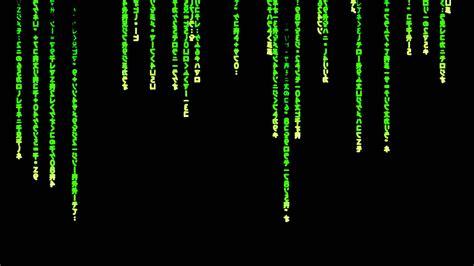 fond d ecran qui bouge 233 cran de veille matrix