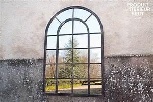 Miroir Style Verriere : miroir industriel le style verri re d 39 atelier en miroir ~ Melissatoandfro.com Idées de Décoration
