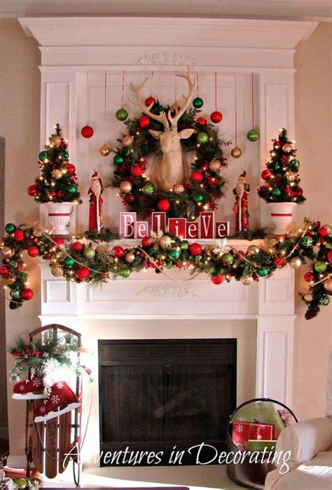 40 wonderful christmas mantel decorations ideas all about christmas