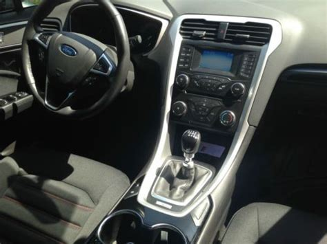 find   ford fusion se sterling grey  miles