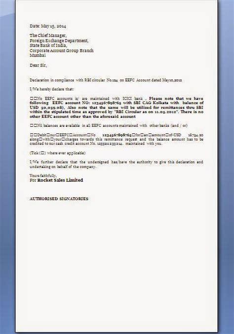 fema declaration letter format