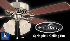 Harbor breeze springfield ceiling fan