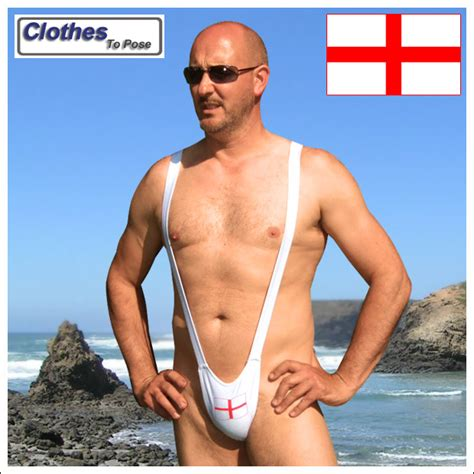 taron egerton swimsuit st george cross mankini