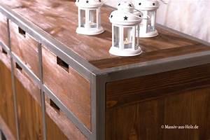 Mbel Im Industriedesign Ein Look Aus Holz Metall