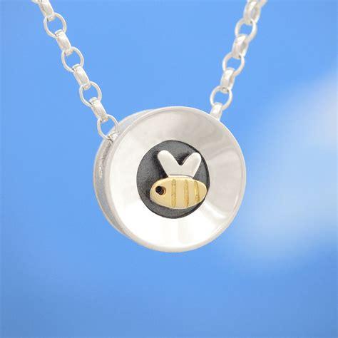 busy bee pendant contemporary necklaces pendants