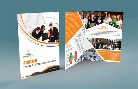 Corporate Brochure Design Psd Free by Free Bi Fold Brochure Psd On Behance