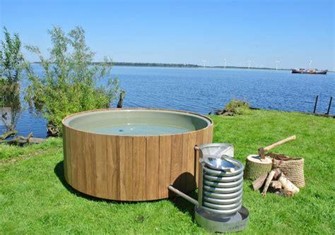 Wood Fired Hot Tub Iconic Dutchtub Heats Organically