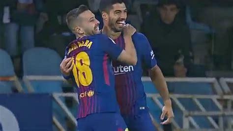 Real Sociedad vs Barcelona la-liga 2018-19 season -- Messi ...