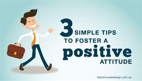 3 simple tips to foster a positive attitude black mouse