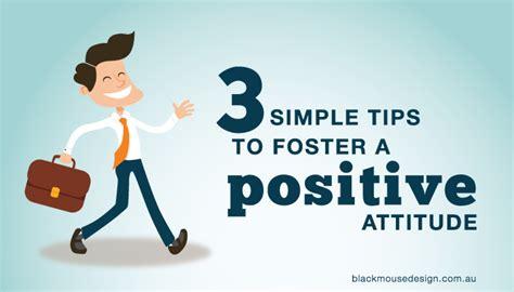 3 simple tips to foster a positive attitude black mouse design