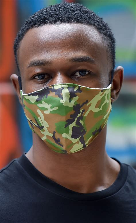 Camouflage Face Mask Insert Coin Clothing
