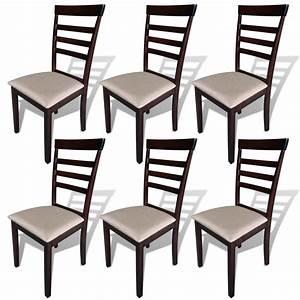 Stühle Aus Holz : der 6 st ck braun creme stabile esszimmer st hle aus holz online shop ~ Frokenaadalensverden.com Haus und Dekorationen