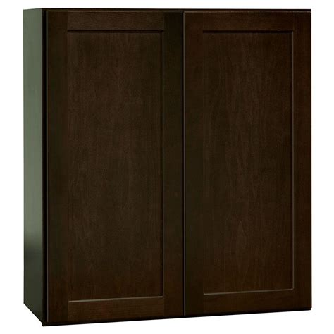 hton bay shaker wall cabinets hton bay shaker assembled 27x30x12 in wall kitchen
