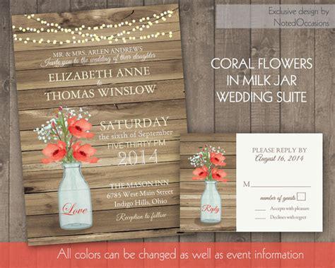 Barn Wedding Invitations : Rustic Wedding Invitation Suite #2350335