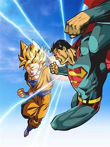 superman vs goku by xikinight on DeviantArt