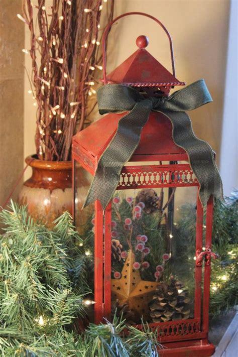 large red metal rustic christmas  littlebitmystyle