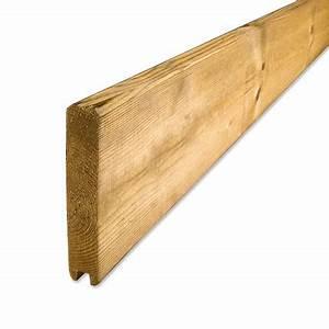 Planche Bois Autoclave : planche de finition droite pour palissade et cloture bois ~ Premium-room.com Idées de Décoration