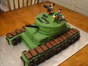 Boys Army Birthday Cake