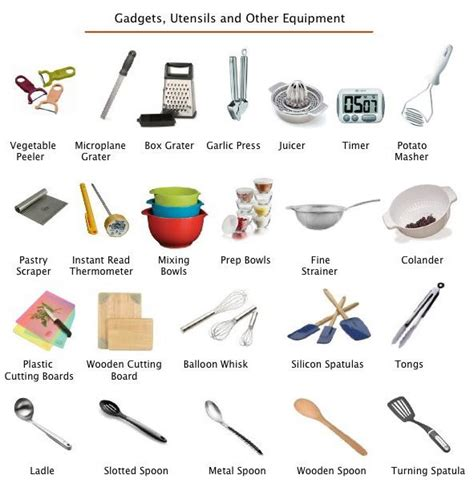ustensils cuisine how to be a better cook part one the right tools