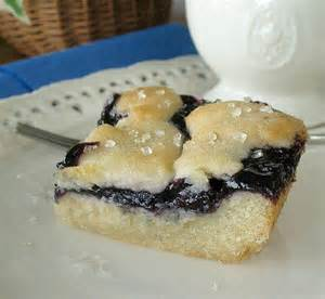 Blueberry Dessert Bars Recipes