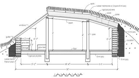 home construction plans bunker floor plans solar house