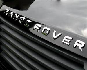 chrome lettering for range rover p38 bonnet letters badge With range rover replacement letters