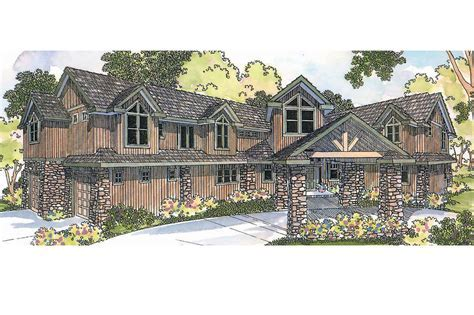 Lodge Style House Plans   Bentonville 30 275   Associated