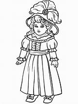 Coloring Games Pages Colouring Printable Barbie Doll sketch template
