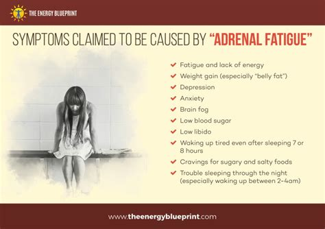 adrenal fatigue real  fatigue caused  poor