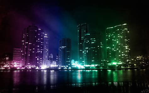 creative city lights wallpapers hd wallpapers id 6114