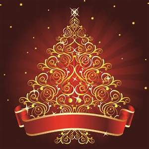 2014 abstract christmas tree design vector Free vector in