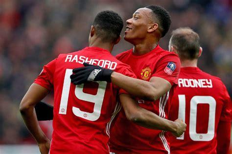 Man United News Anthony Martial And Marcus Rashford Will
