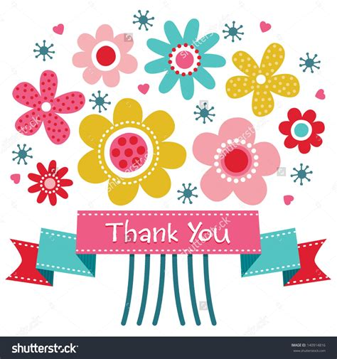 Free Thank You Clipart Clip Thank You Flowers 101 Clip